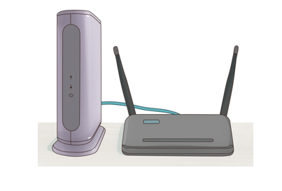 DSL WLAN Router mode