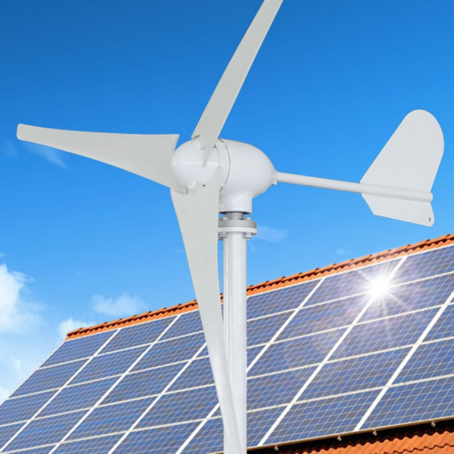 3kw Vertical Axis Wind Turbines