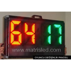 Player Substitution Board