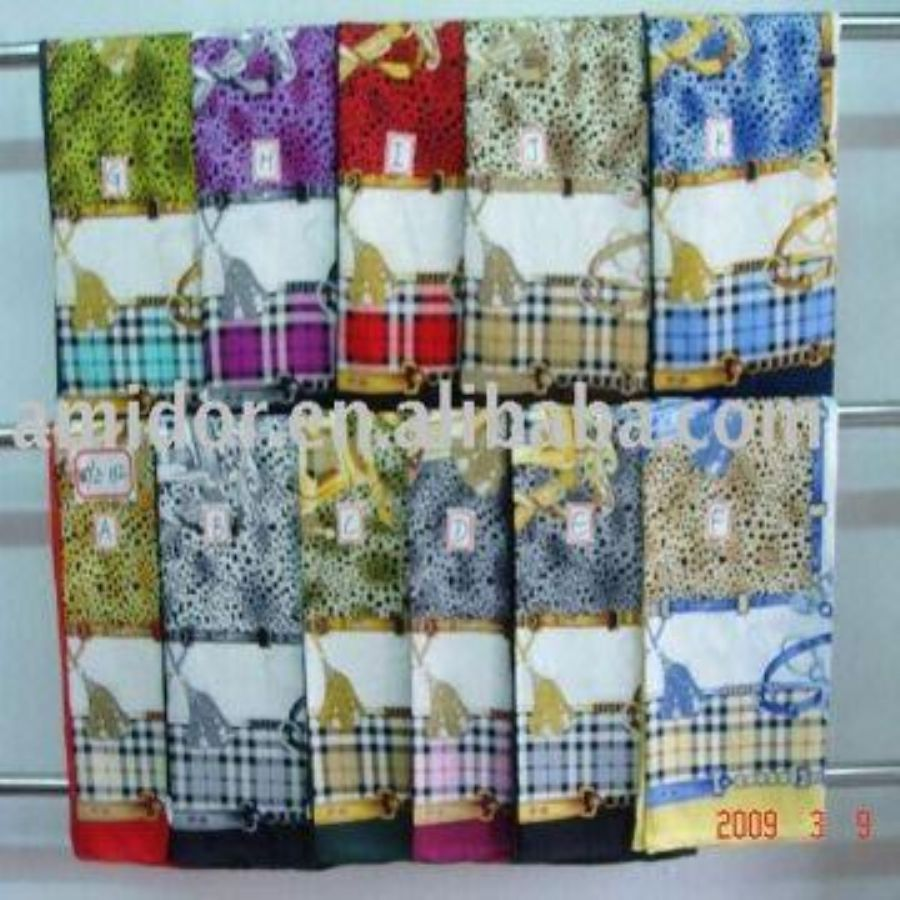 Silk Square Scarf (n