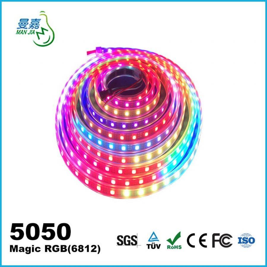 Magic LED strip light