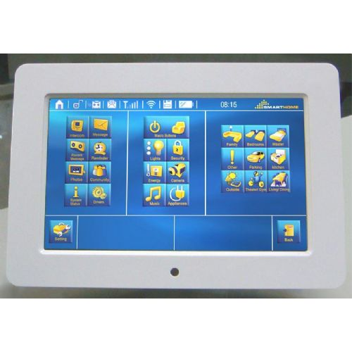 Home Automation System Central Control Touch Screen