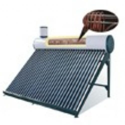 Solar collector with heat pipe(Pressure type) - Take a bath after a busy day, add some color to life