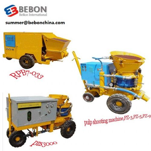 concrete equipment/concrete machine/diesel pump
