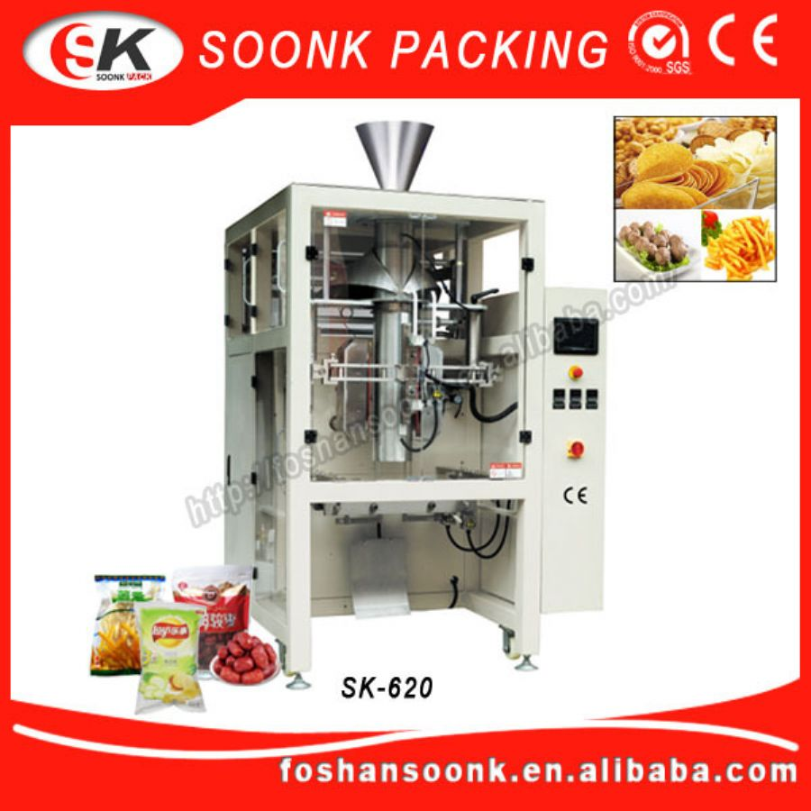 Multihead_Weigher_Plastic_Sachet_Filling_And_Sealing_Machine