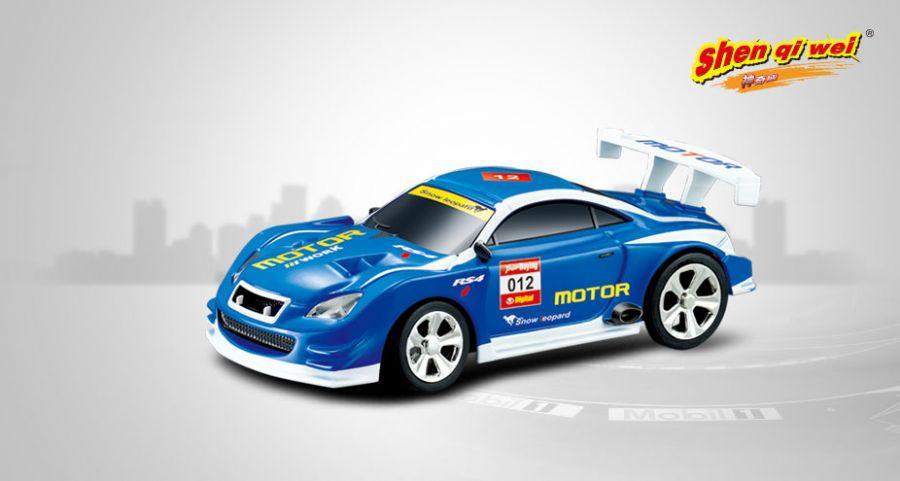 Scale_1:58_mini_RC_police_car_2006D