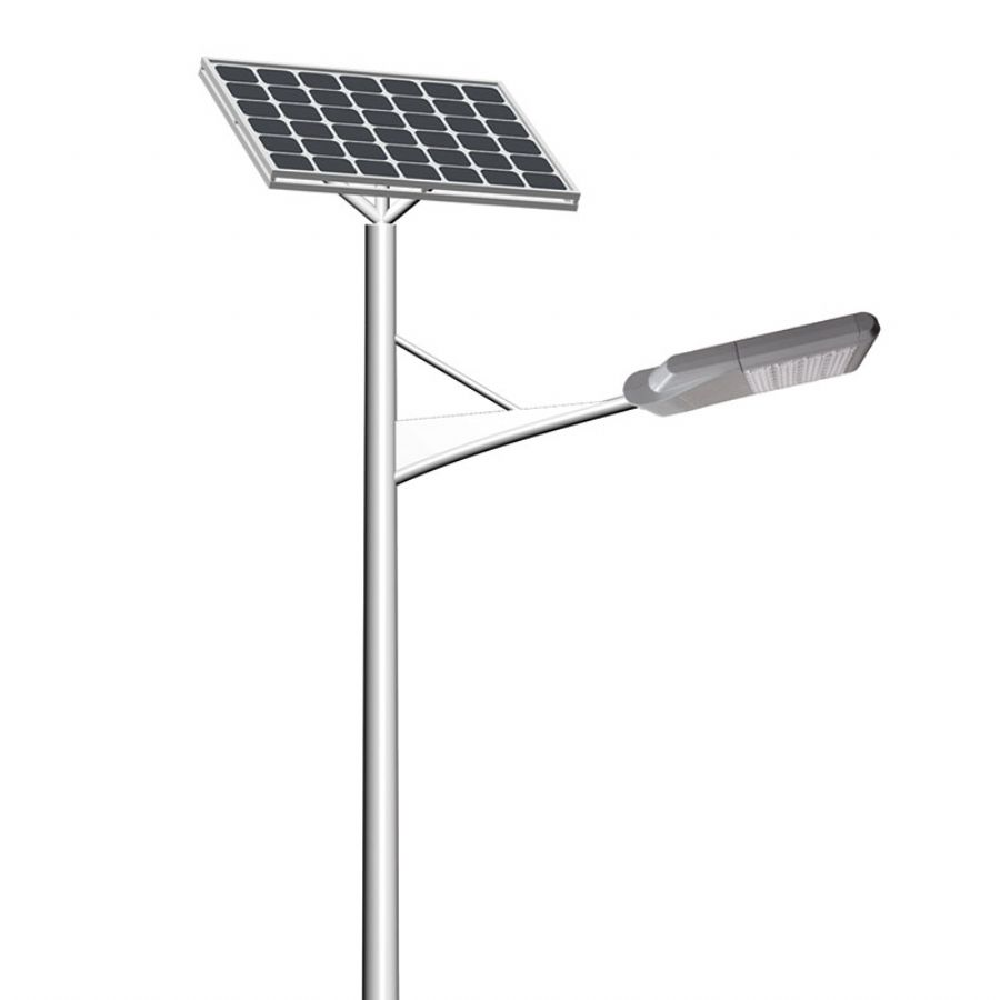 single arm LED solar