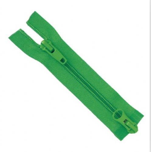 #8 Nylon Two Slider Open End Zipper