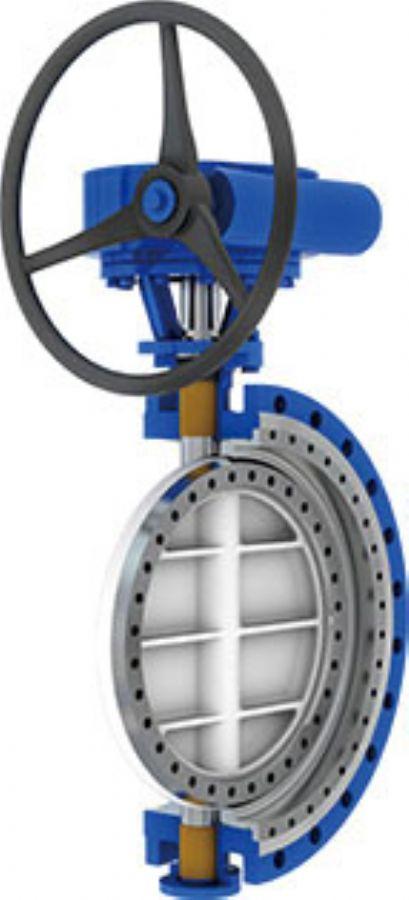 3ECC hard seal butterfly valve