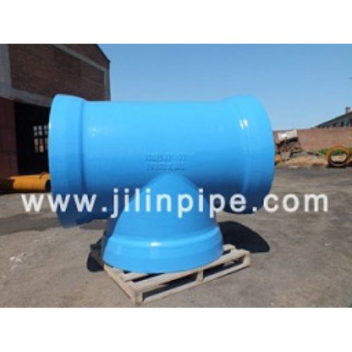 ductile iron pipe fittings, all socket tee