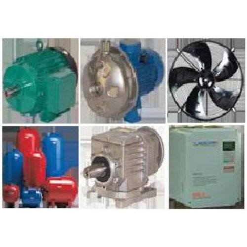 Electric Motors and Pump,  Water Pumps, Pressure Tanks, Air Movement, Transmıssıons, Inverters,