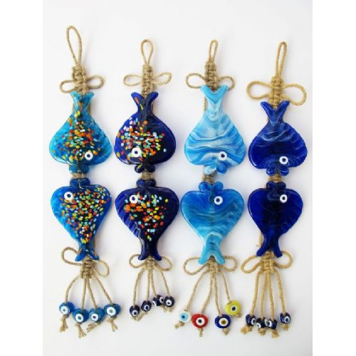 handmade gift object, glass evil eye bead, keychain, magnet, bead, wall decoration, decor items