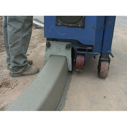 concrete curb machin