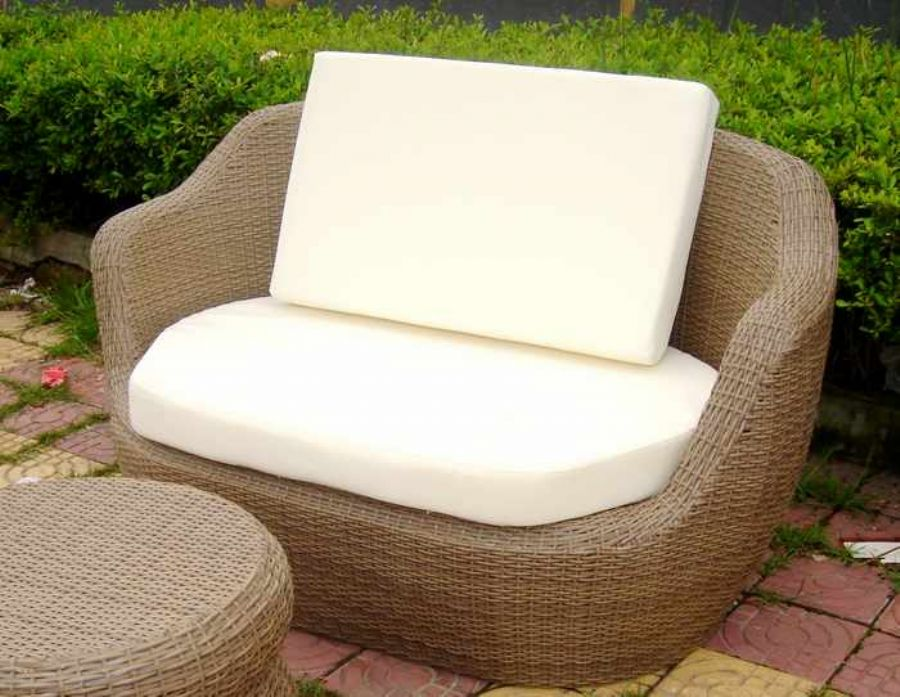 Rattan Furniture Wicker Obelisk Chair