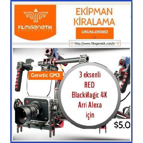 3 Eksenli Red BlackMagic Kamera