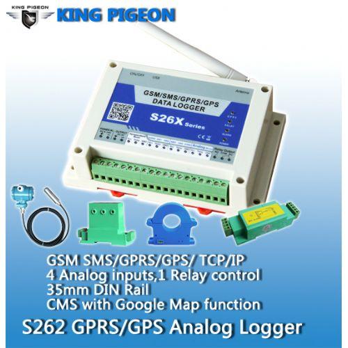 S262W_GSM_GPRS_3G_WCDMA_UMTS_GPS_Analog_data_logger