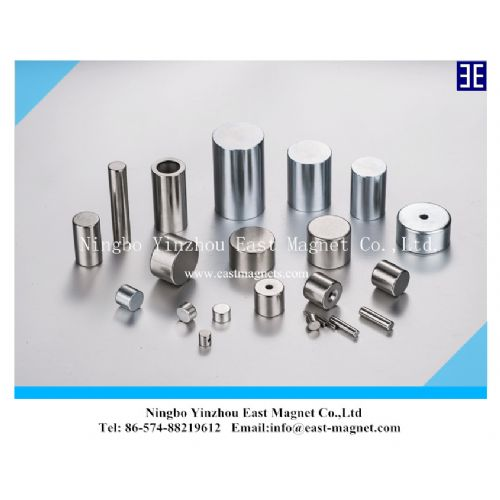 Cylinder shape strong sintered permanent NdFeB Magnet