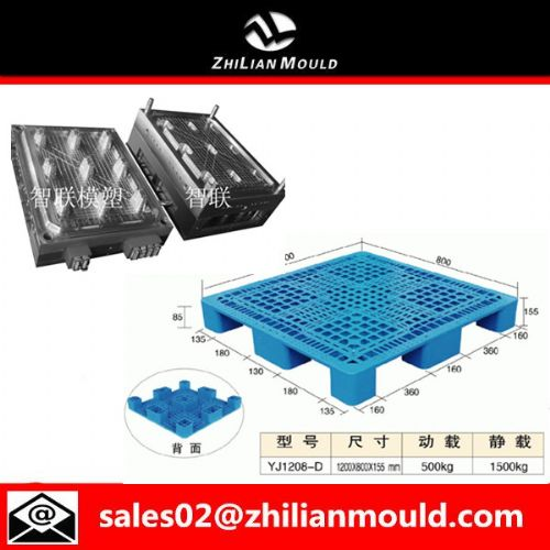 plastic single-faced pallet mould machine