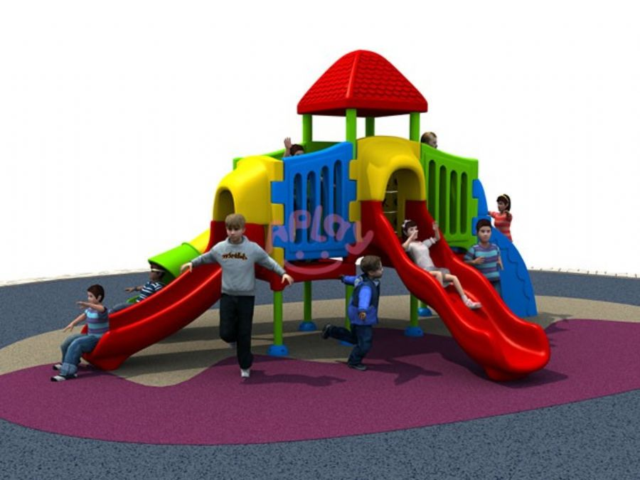 Child Plastic Outdoor Play Equipment