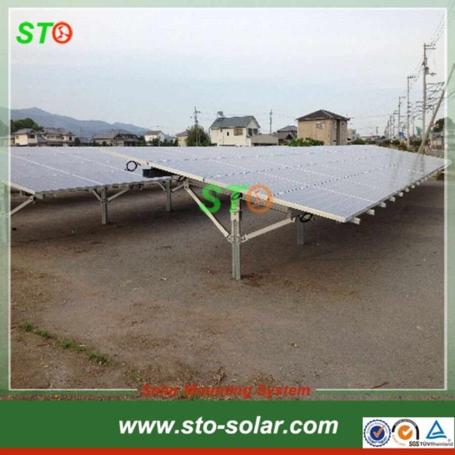 Aluminum Solar Ground Mount (N shape)