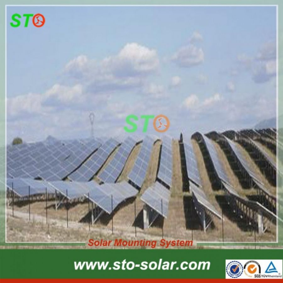 Aluminum_Solar_Ground_Mount_(N_shape)