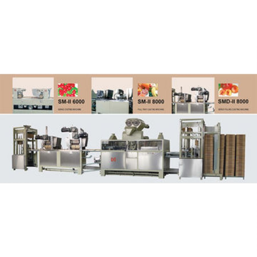 SM-II8000 Starch Molding Jelly Production Line
