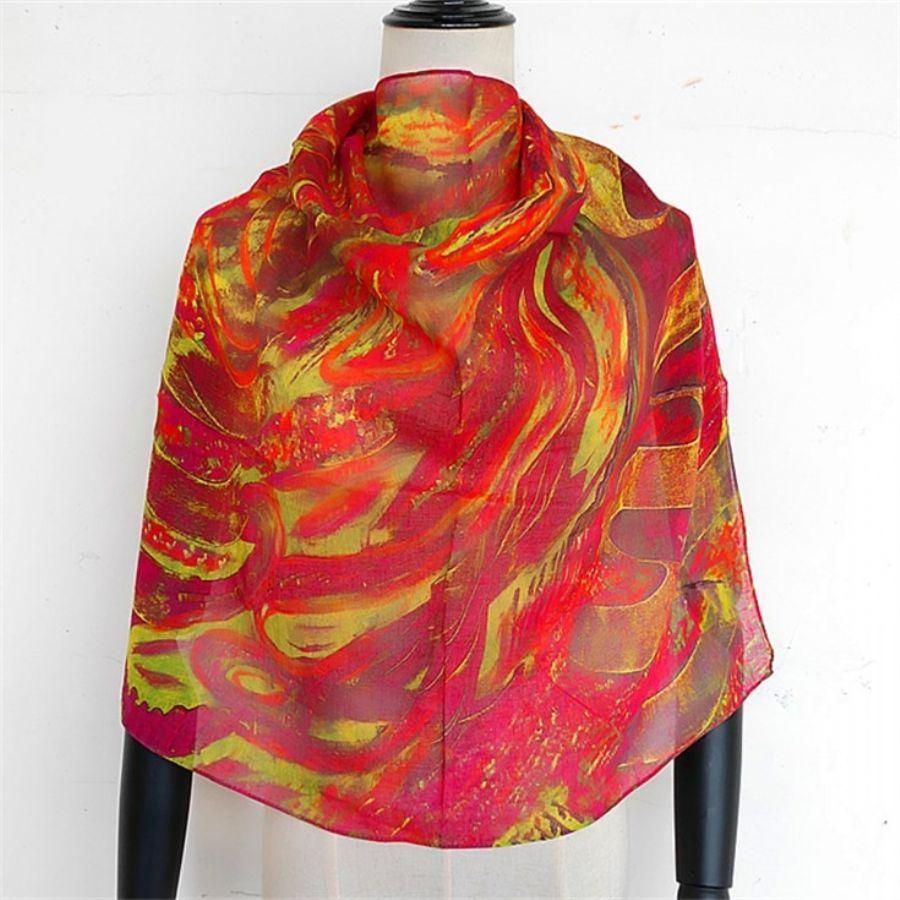 Honeybees_pattern,_custom_scarf,_bandana_available