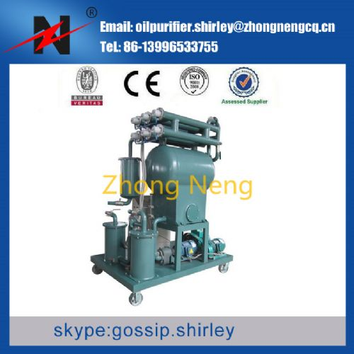 Single-Stage Vacuum Transformer Oil Purifier Machine ZY