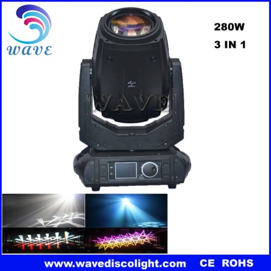 280W beam disco stage  moving head light