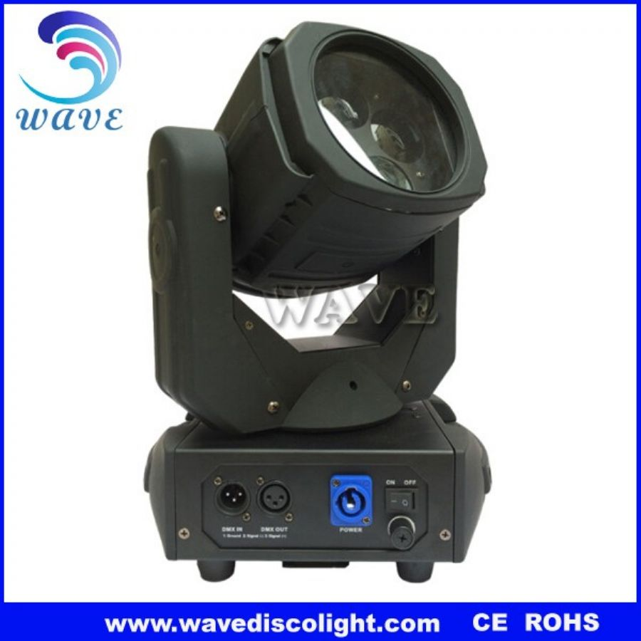 4 pcs rgbw 4 in 1 15w leds beam wash moving head