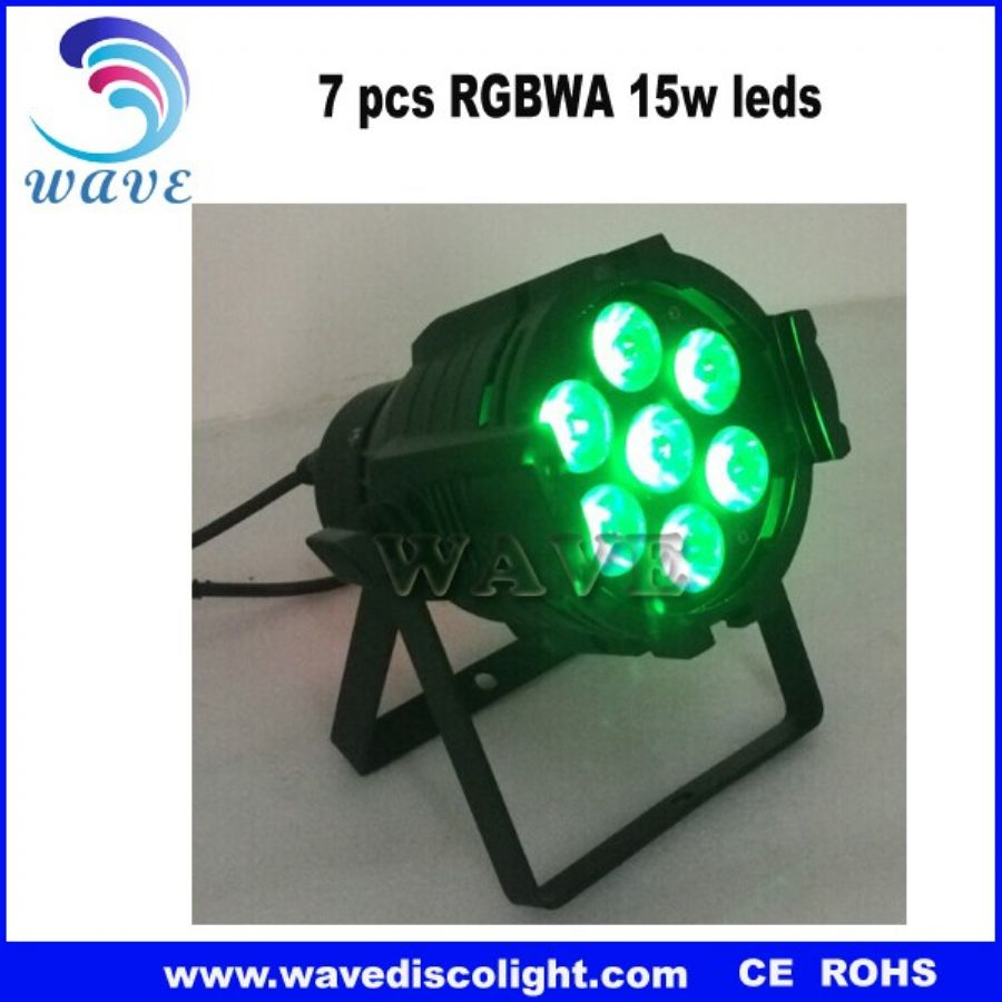 7 pcs 4 in 1 12w leds beam moving head light