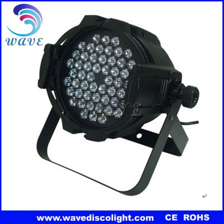 54 pcs 3w rgbw leds par light