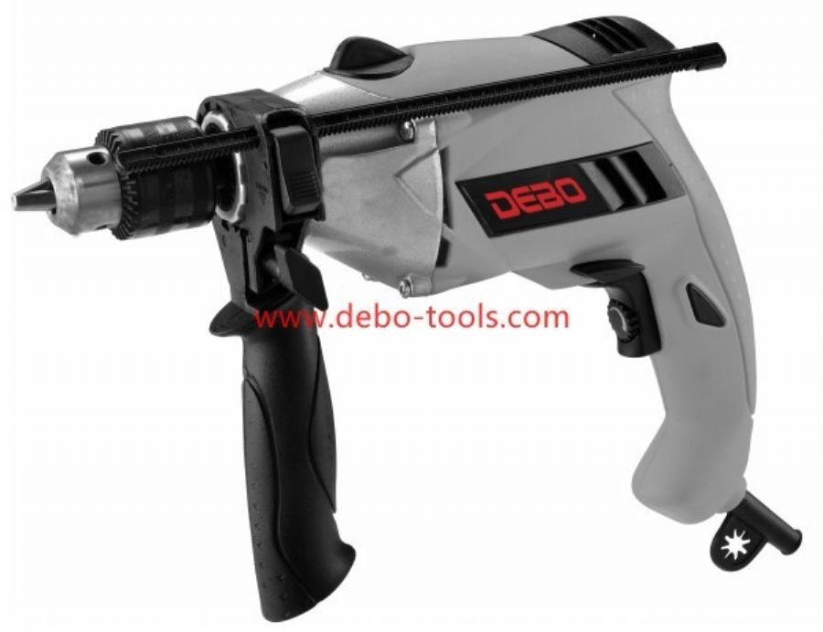 710W Impact Drill With Aluminum Head