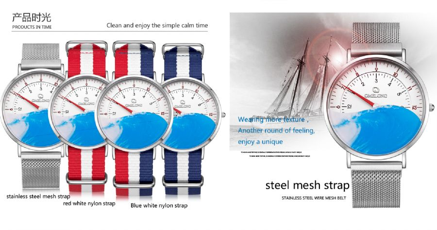 Alloy Watch Factory Daily Life Water Resistant