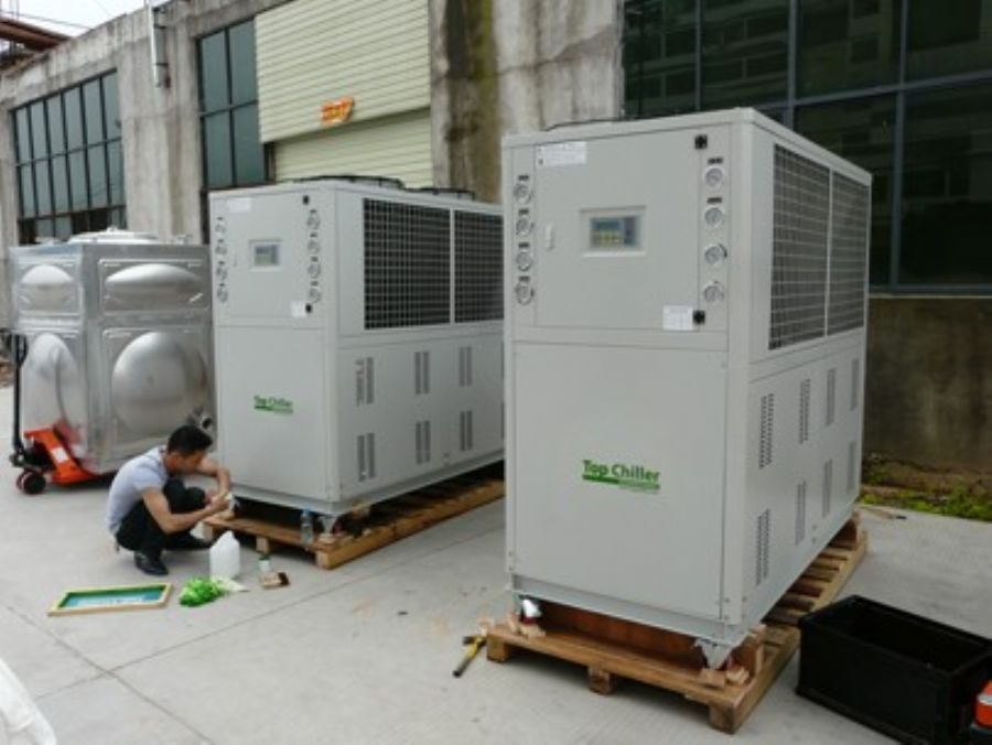 Mexico used air cooled scroll compressor chillers