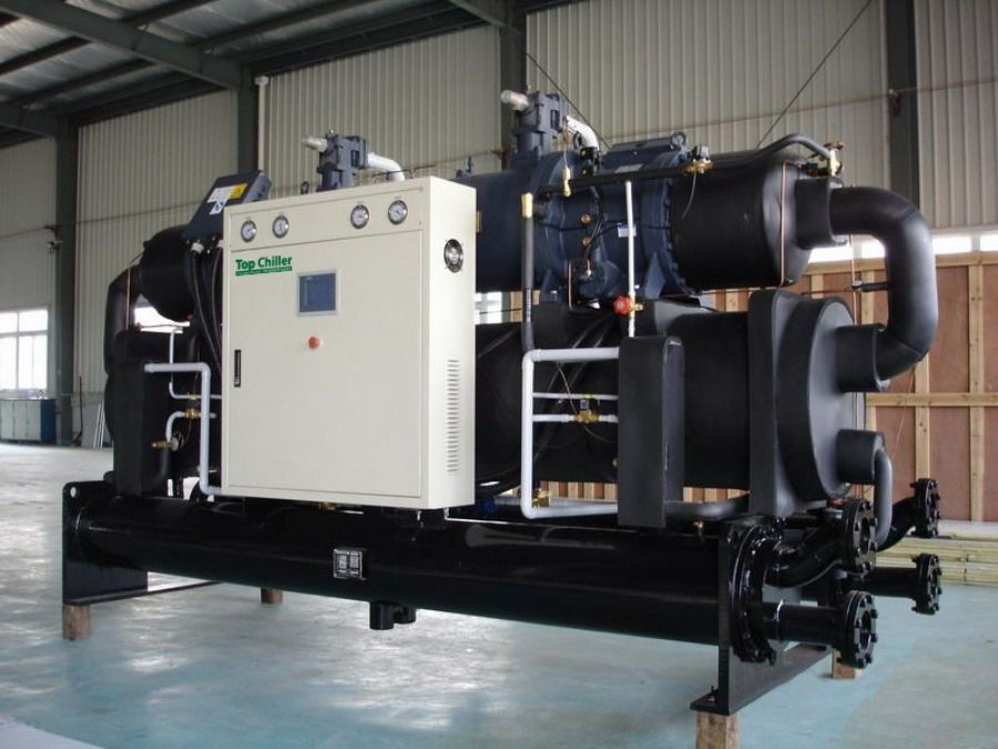 320TR water chiller machine for concrete cooling