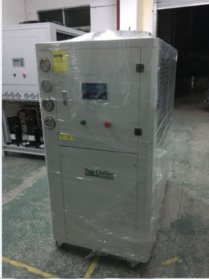32KW air cooling&heating chiller for PU foaming