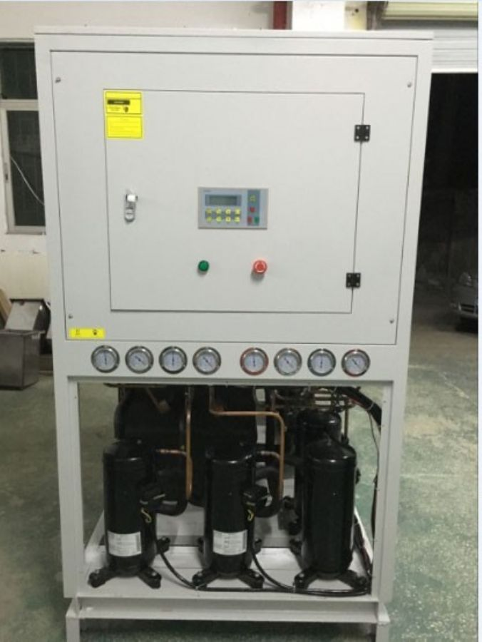 57kw industrial water chillers for semi conductor