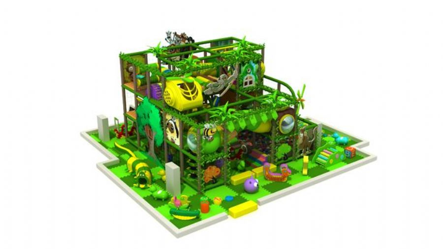 Indoor Playgrounds Jungle Theme