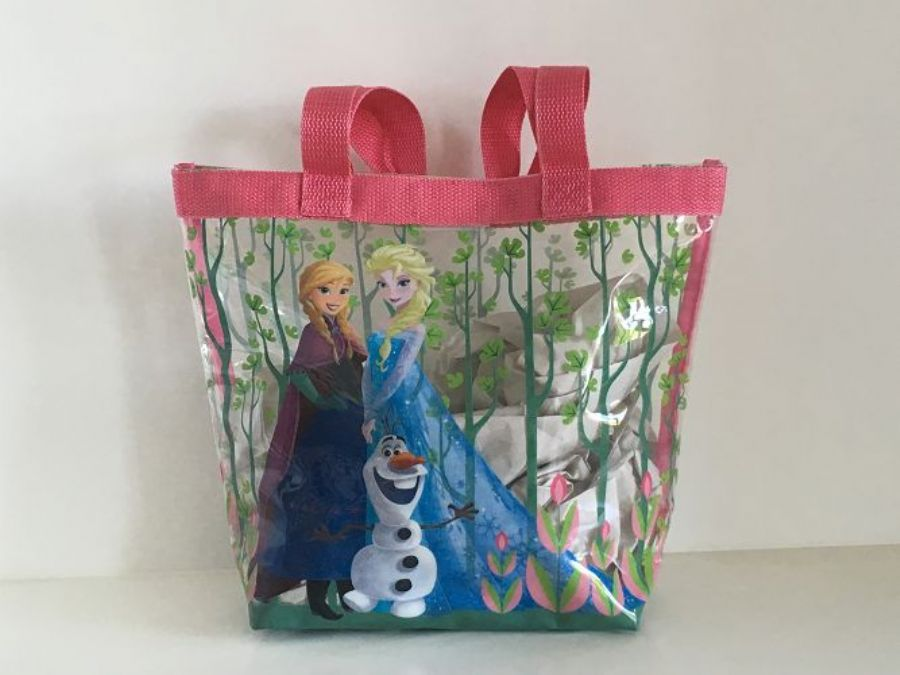 Disney Frozen Sisters Clear PVC Bag