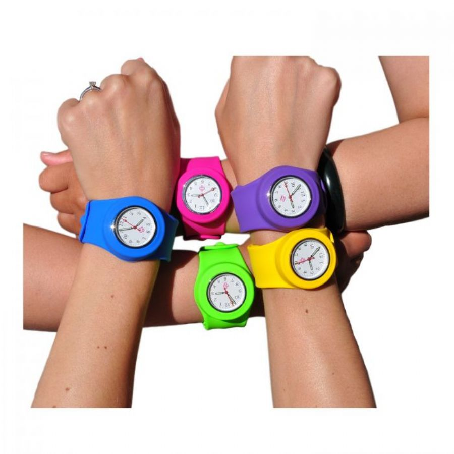 New Product Fashion LED Movement Colors Offer Plastic Siliocne Watch
