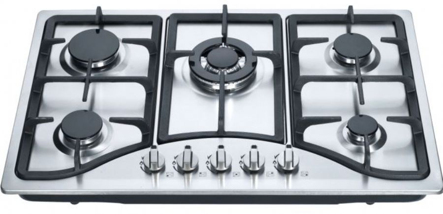 Hot Sale Domestic Portable With Chinese Or India Brass Burner With Straight Flame Table Gas Hob