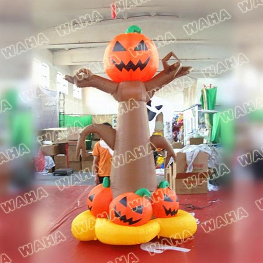 Giant Inflatable Ghost Archway For Halloween Decoration
