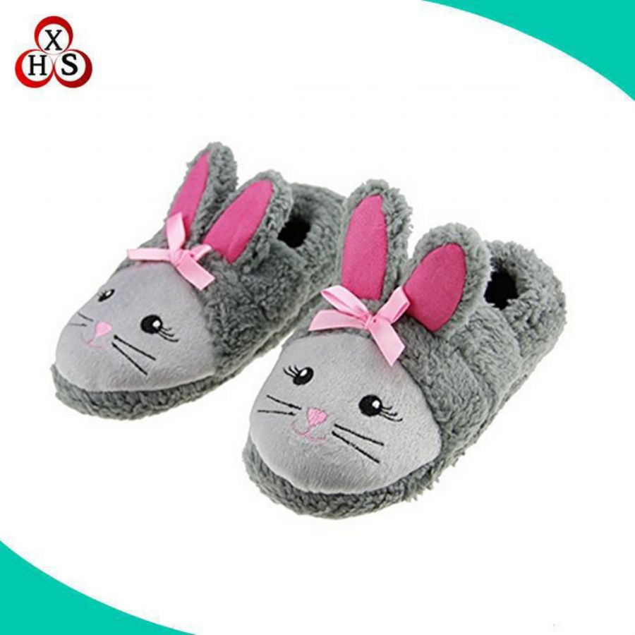 Unisex Cute Cartoon Fuzzy Latest Super Soft Plush Chicken Animal Shaped Slippers