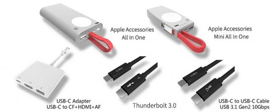 SIMYA_High_Speed_Type_C_To_USB_3.0_AF+USB_3.0_CF+VGA_Cable_With_Windows_,_For_Surface_Studio_Surface