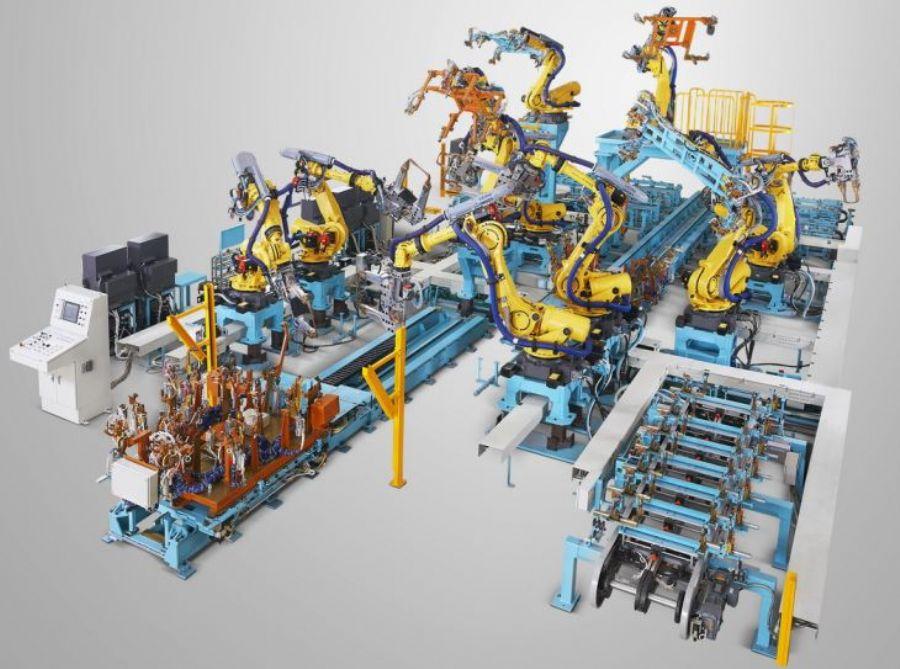 Robotic Welding Fixt