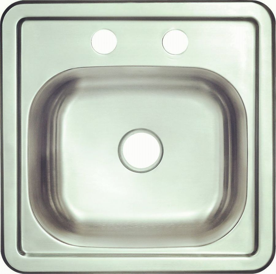 Topmount single bowl-KBTS1515