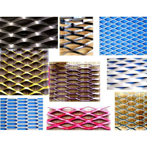 Expanded - metal Mesh Panels For Architectural Uses