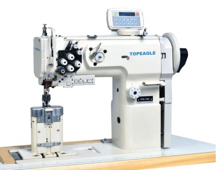 TN_5214_LFC_Super_High_Speed_4_Thread_Elastic_Tape_Attaching_Overlock_Sewing_Machine