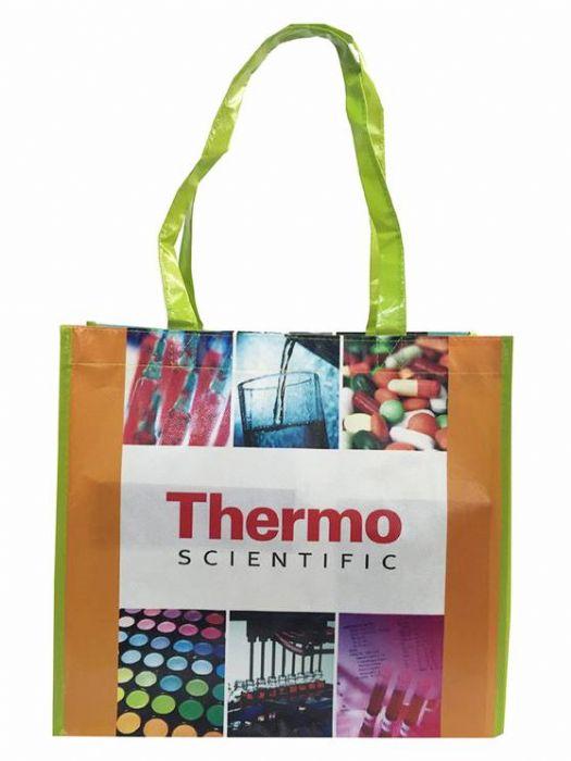 PP Non Woven Grocery Bags With Custom Logo, Non Woven Polypropylene Bags